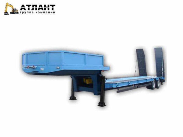 Полуприцеп-тяжеловоз 948427, двухосный, высокорамный, грузоподъемностью 28500 кг