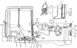 Электрооборудование тракторов с пусковым двигателем