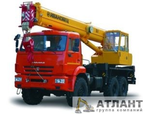Автомобильный кран КС-35714 на шасси КАМАЗ-43118 купить