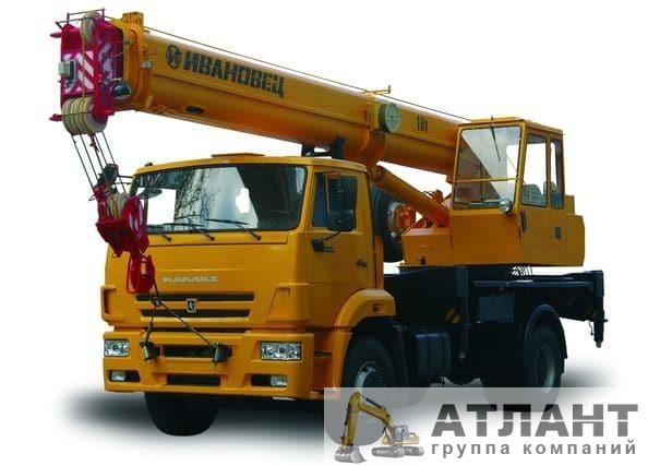 Автомобильный кран КС-35714К-3 16 тонн купить
