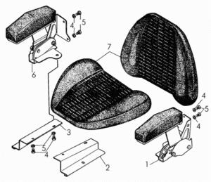 Детали сиденья