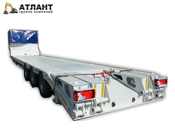 Полуприцеп-тяжеловоз Атлант 948412-40П, трехосный, низкорамный