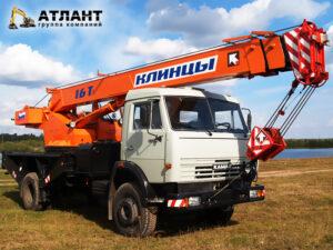 Автокран Клинцы 16 тонн - стрела 23 метра