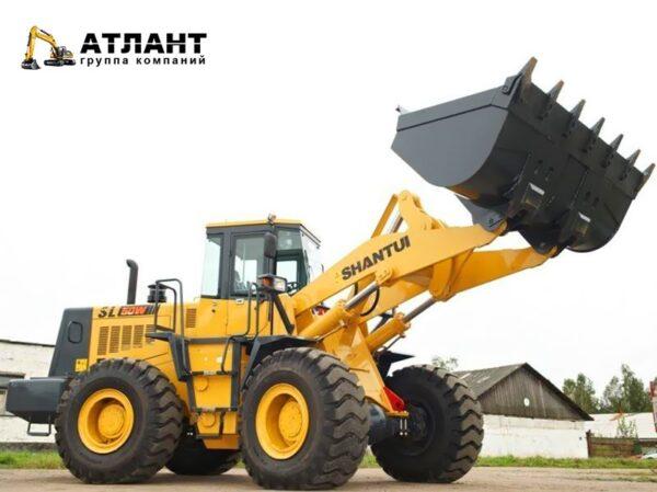Shantui Фронтальный погрузчик SL50W (5 тонн)