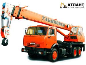 УМЗ-2 Автокран «Ульяновец» МКТ-25.1 / КАМАЗ-55111 (25 тонн)
