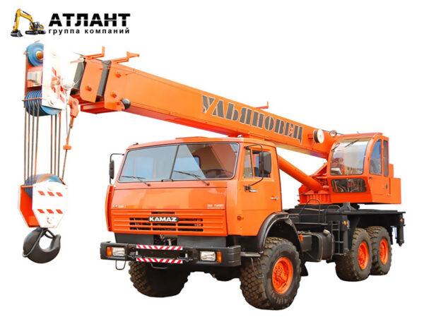 УМЗ-2 Автокран Ульяновец МКТ-20.1/КАМАЗ-43253-02 (20 тонн)