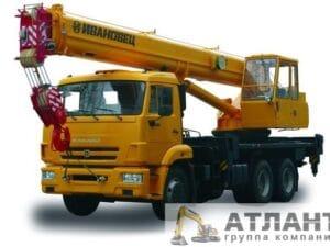 Автомобильный кран КС-45717К-1 25 тонн купить