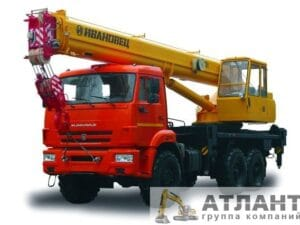 Автокран Ивановец КС-45717К-3 25 тонн купить