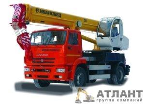 Автокран Ивановец КС-55744 25 тонн купить