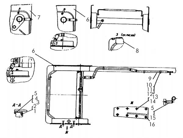 Установка гидравлической системы продолжение картинка