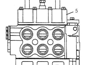 Установка рычагов гидрораспределителя схема