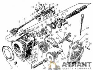 Редуктор пускового двигателя заказать
